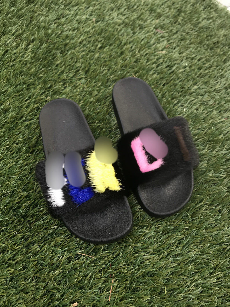 F*** Mink Slippers - SHOP SO REAL