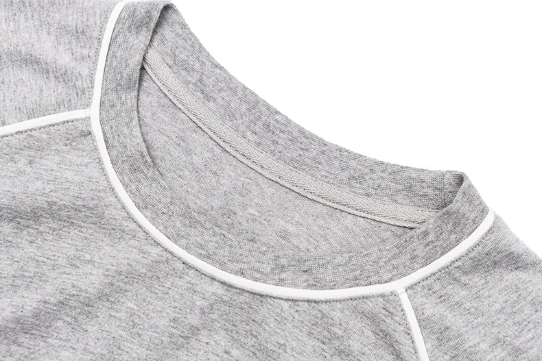 SL. ESSENTIAL GREY LOOSE TEE