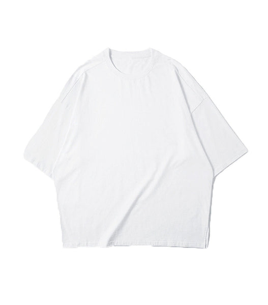 ESSENTIAL WHITE LOOSE TEE