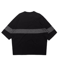 L. BLACK ESSENTIAL LOOSE TEE