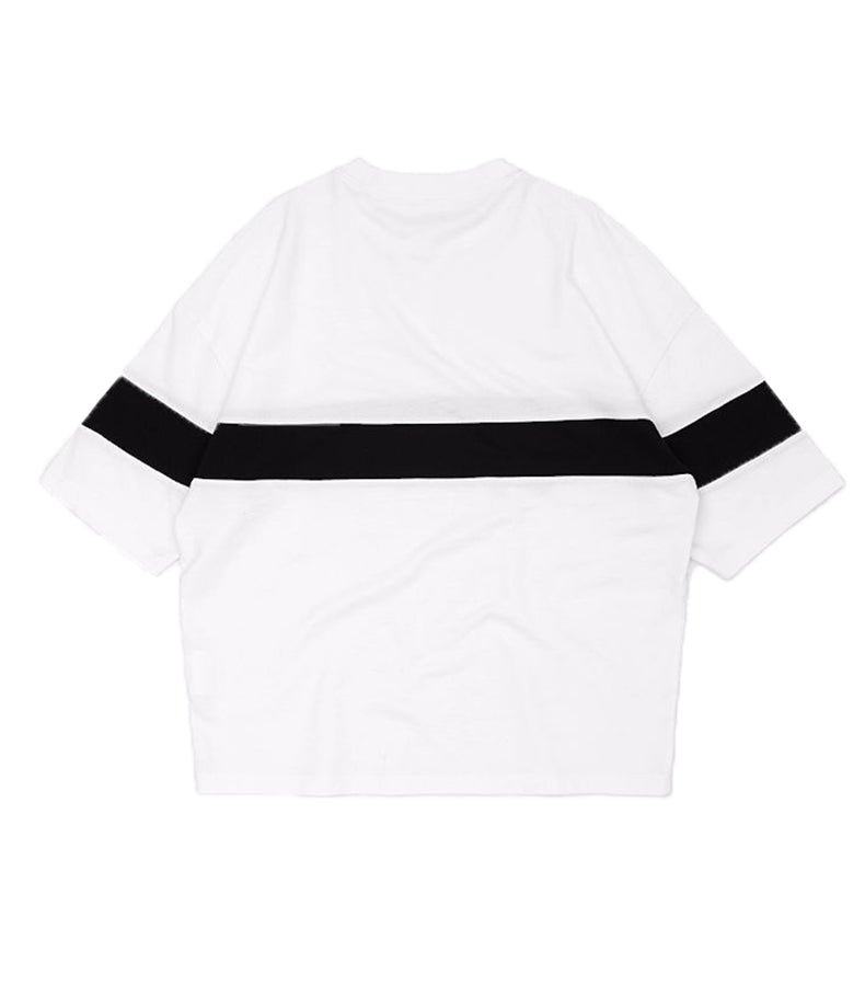 L. WHITE ESSENTIAL LOOSE TEE