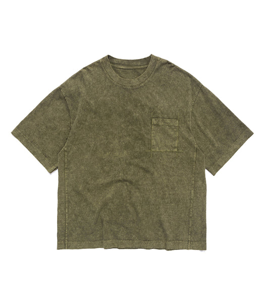 V. ESSENTIAL GREEN LOOSE TEE