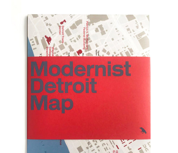 Modernist Detroit Map now available