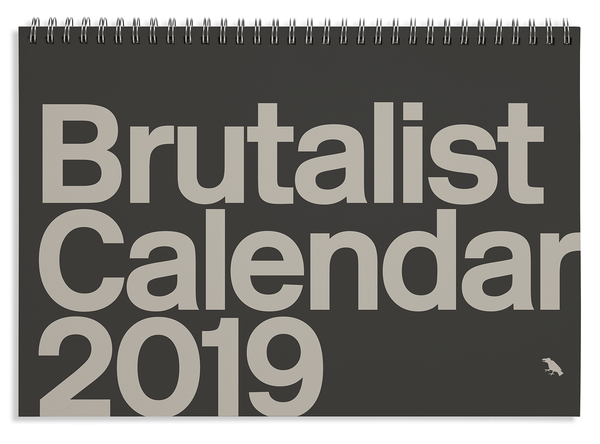 Brutalist Calendar 2019 coming soon