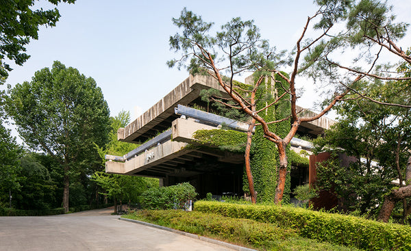 old seoul country club by blue crow media concrete seoul architecture map