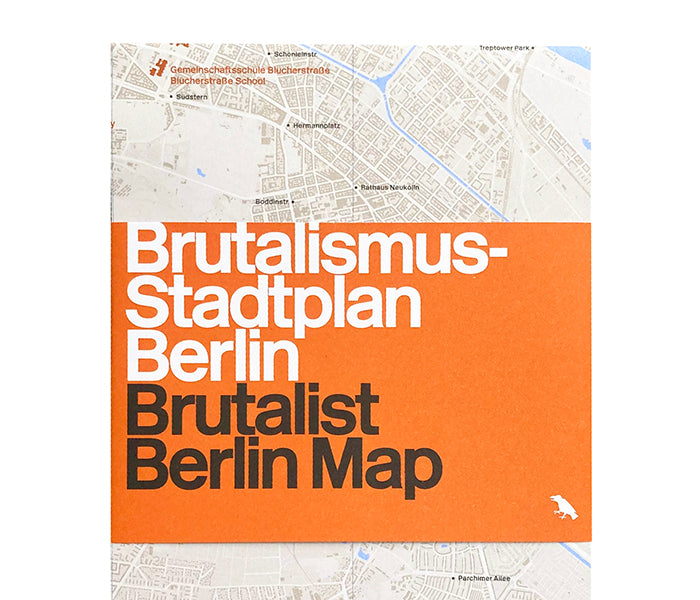 Brutalist Berlin Map