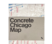 Concrete and Brutalist Chicago Map