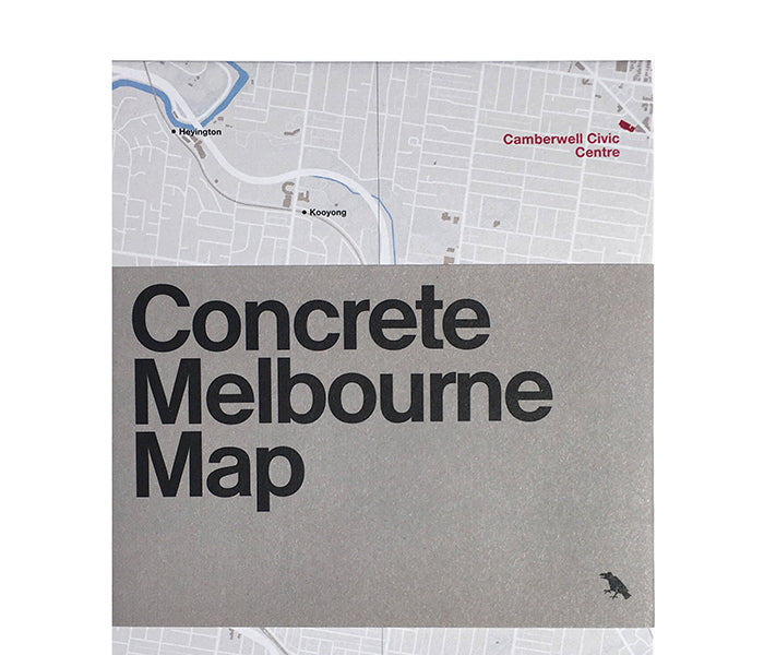 Concrete Melbourne Map