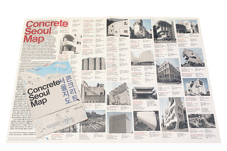 Concrete Seoul Map