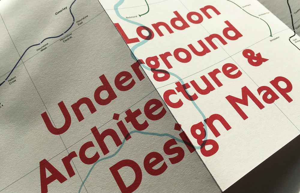 London Architecture Maps Set