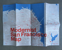 Modernist San Francisco Map