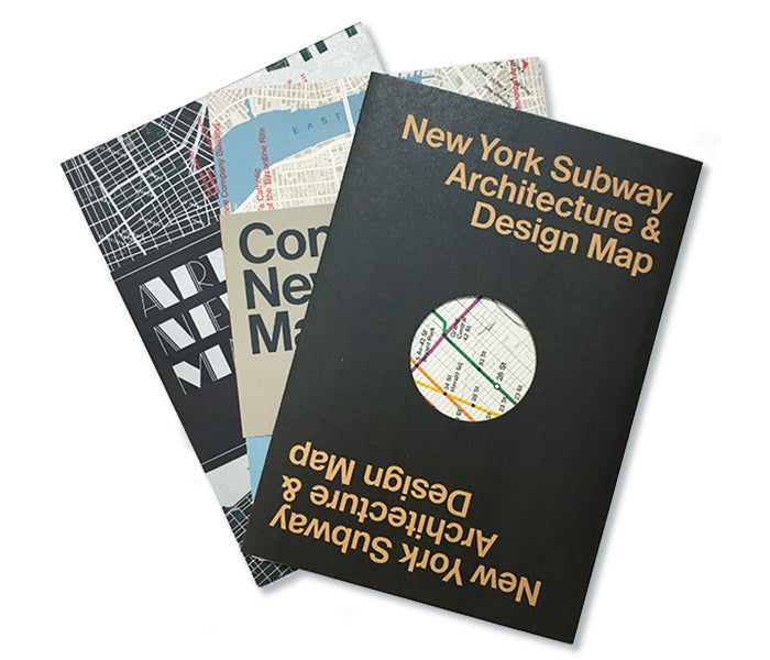 New York Architecture Maps Set