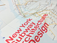New York Subway Architecture & Design Map