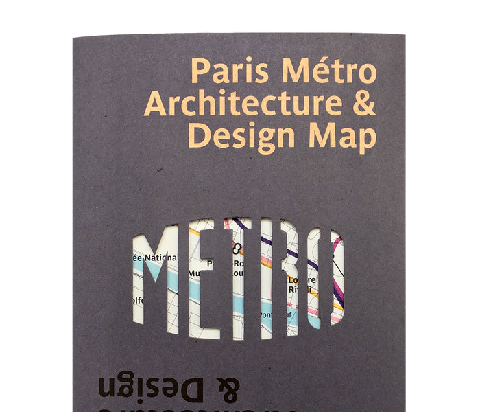 Paris Metro Architecture & Design Map