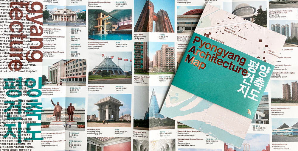 Pyongyang Architecture Map