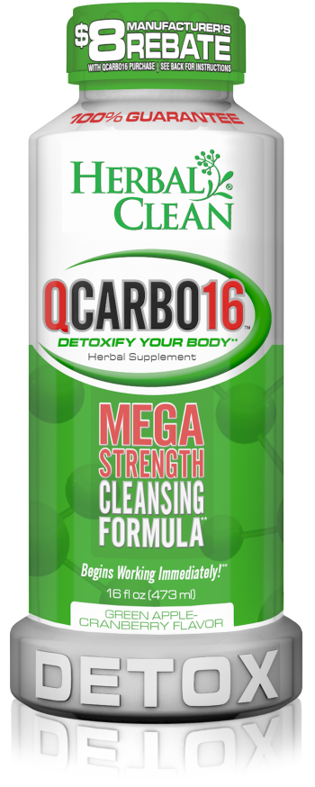 Herbal Cleanå¨ Q Carbo 16 oz. Green Apple Cranberry