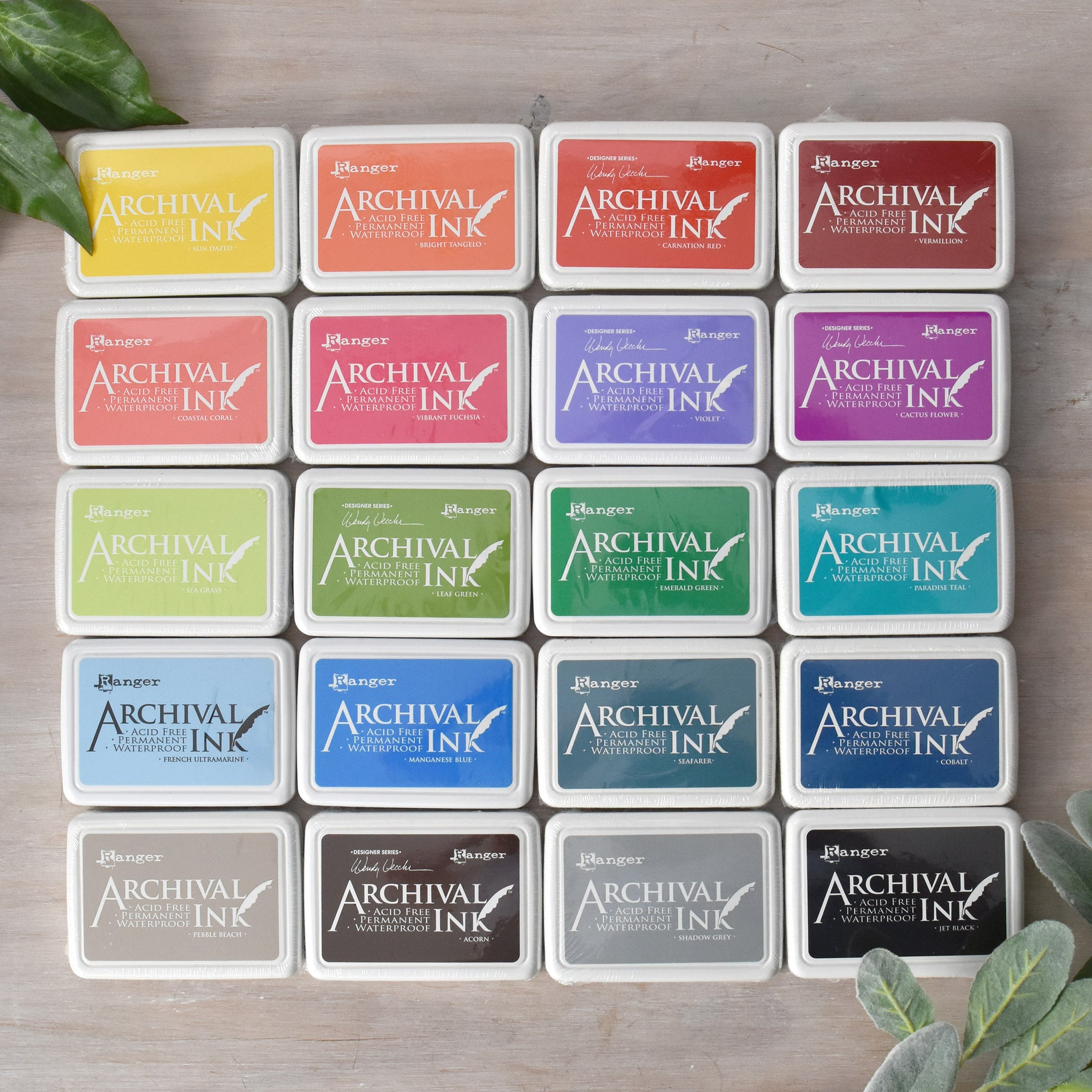 Ranger Ink Archival Ink Pad - 28 Colour Options