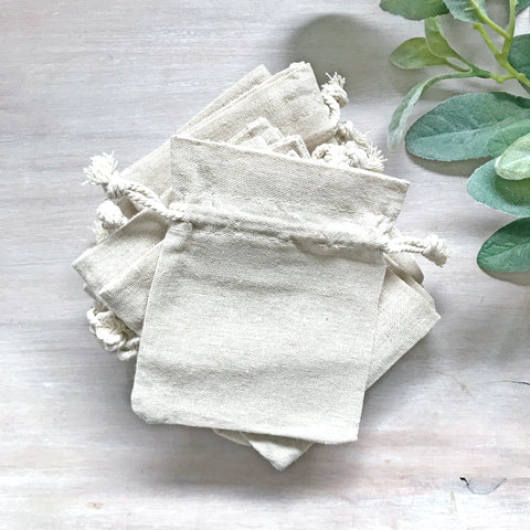Clearance Linen Gift Bags