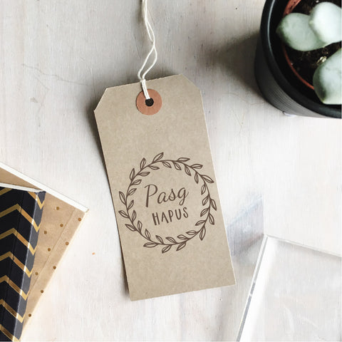 Pasg Hapus Wreath Stamp