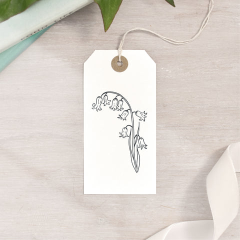 Bluebell Flower Stamp | 3 Sizes