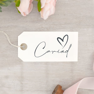 Cariad Stamp | Welsh Love Stamp