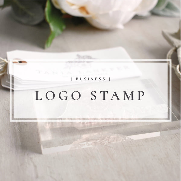 Custom Logo Stamp | Personalised Business Stamp