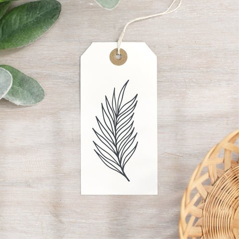 Easter Palm Leaf Stamp