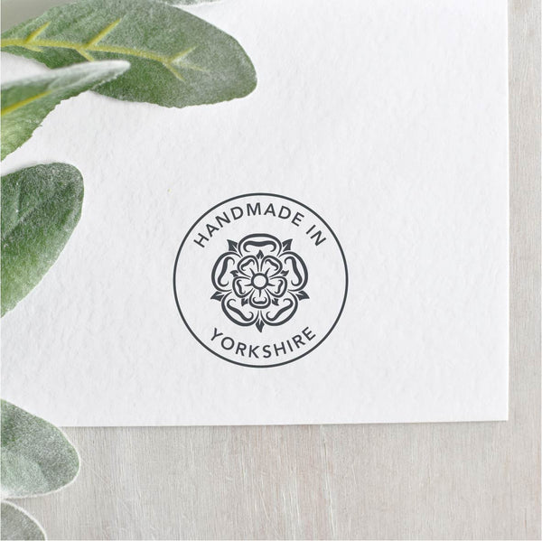 Yorkshire Rose Handmade in Yorkshire Stamp