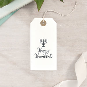 Menorah Happy Hanukkah Stamp