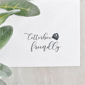 Letterbox Friendly Envelope Stamp