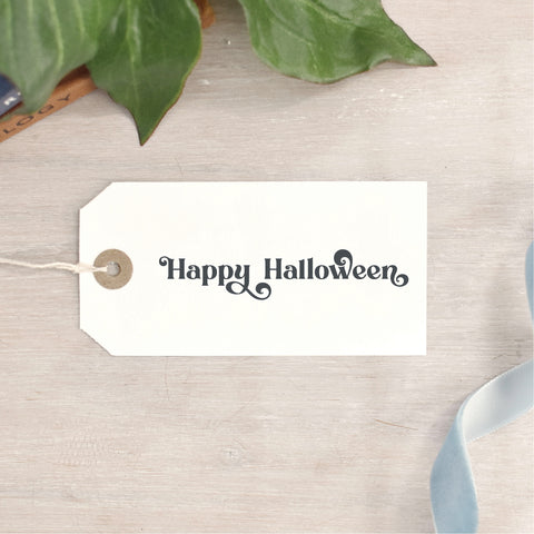 Happy Halloween Stamp | 2 STYLES