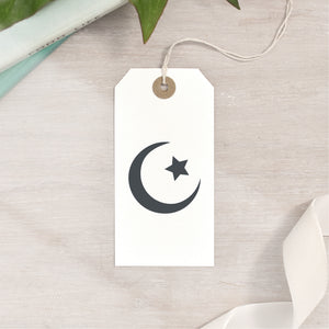 Islam Star And Crescent Moon Symbol Stamp
