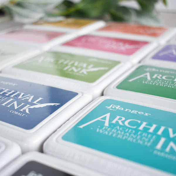 Ranger Ink Archival Ink Pad - 20 Colour Options