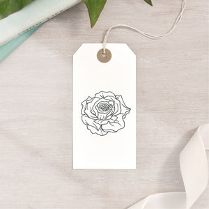 Rose Flower Stamp | 3 Sizes