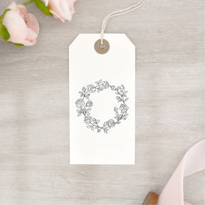 Rose Wreath Stamp | Valentine's Day