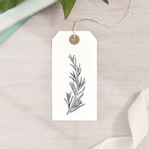 Rosemary Sprig Stamp | 3 Sizes