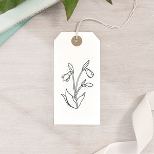 Snowdrop Flower Stamp | 3 Sizes