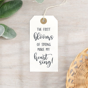 Blooms of Spring Stamp | Easter Quote