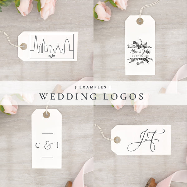 Custom Wedding Logo Stamp