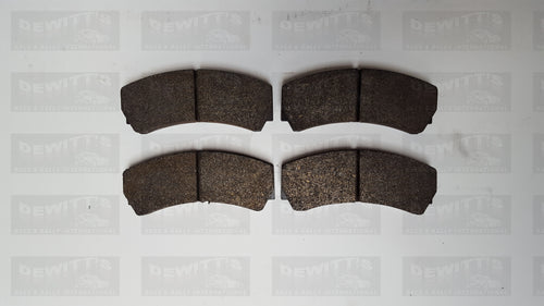 (Code: BRK-16) GPA Brake Pads- Carbon 315mm Rear Tarmac/Gravel (Contact for price)
