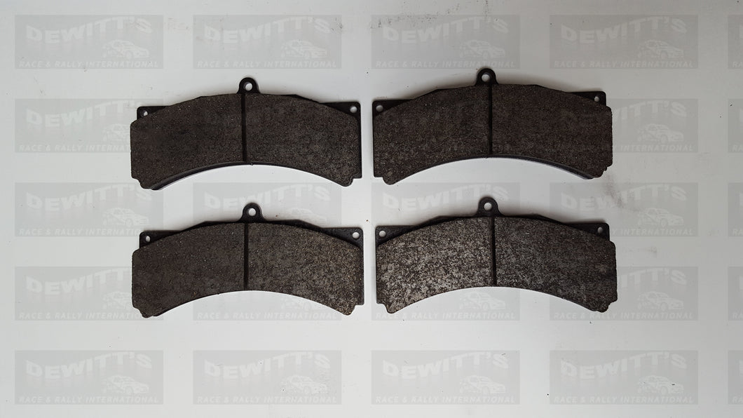 (Code: BRK-15) GPA Brake Pads- Carbon 355mm 6 Pot Tarmac front (Contact for price)