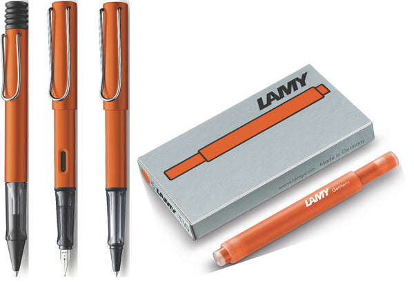 Lamy Al-Star Copper Orange - 2015 Special Edition