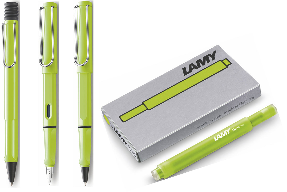 Lamy Safari Neon Lime - 2015 Special Edition