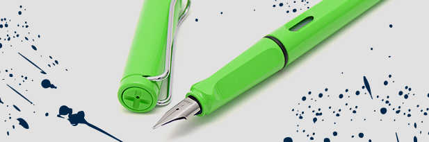 THE safari fountain pen