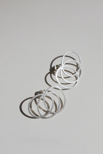 Silver Line earrings no5