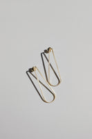 Gold Line earrings no3