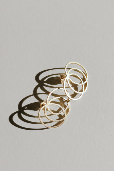 Gold Line earrings no5