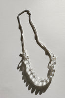 Silver Twist necklace