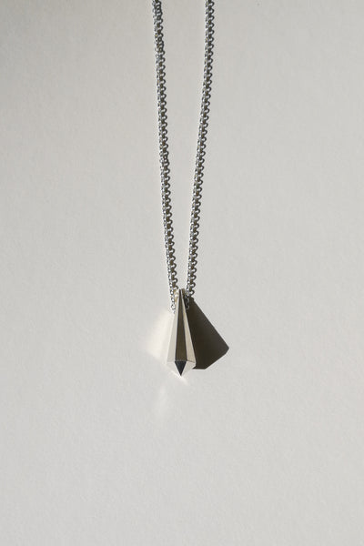 Silver Crystal necklace no2