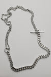 Silver Twist necklace no2